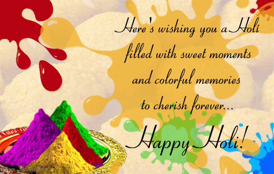 Happy Holi 2017 Messages.