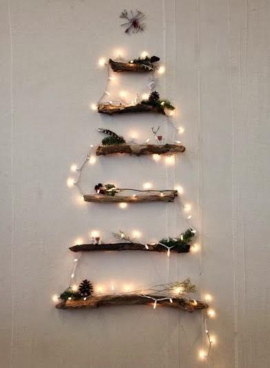 Árbol navideño para decorar tu pared