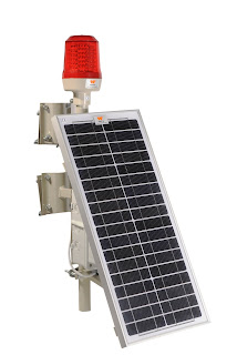 wetra güneş enerjili uçak ikaz lambası