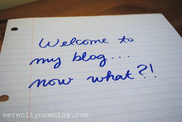 Blogging Myths Series at Serenity Now