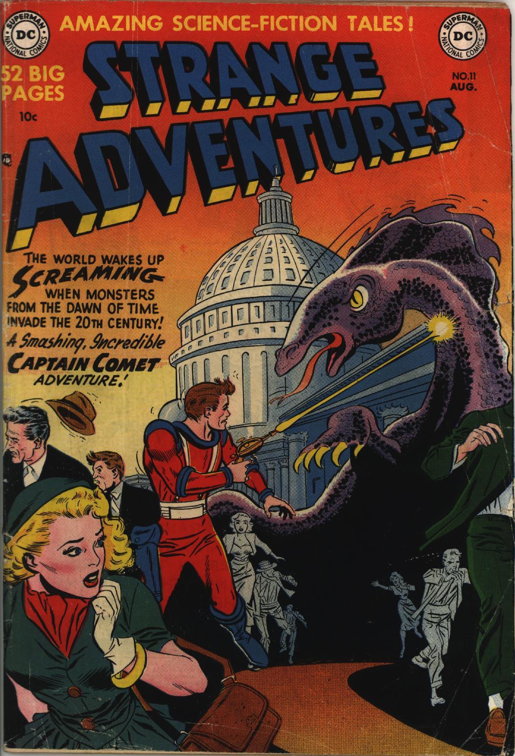 Strange Adventures (1950) issue 11 - Page 1