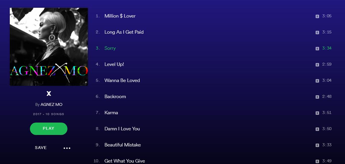 Keren Album X Agnez Mo Di Spotify, Ayo Putar Lagu-lagunya!
