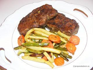 Muschi de porc la cuptor cu bere retete culinare fripturi,