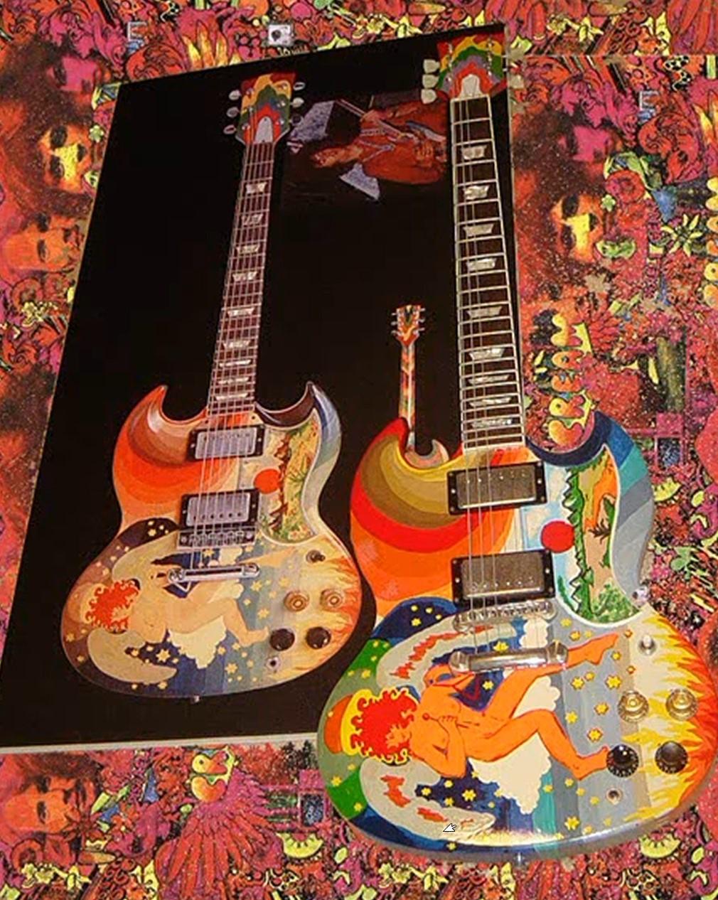 The Fool Guitar: THE GIBSON SG FOOL WEBSITE