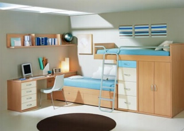 Revista digital apuntes de arquitectura mobiliario de la for Camas modernas para jovenes