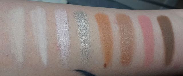 Swatches Coffret Boss Lady Too Faced