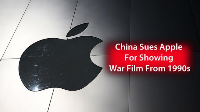 Apple was sued by China For Showing War Film From 1990s