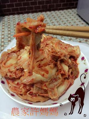好吃的亂七八糟素韓國泡菜-農家許媽媽