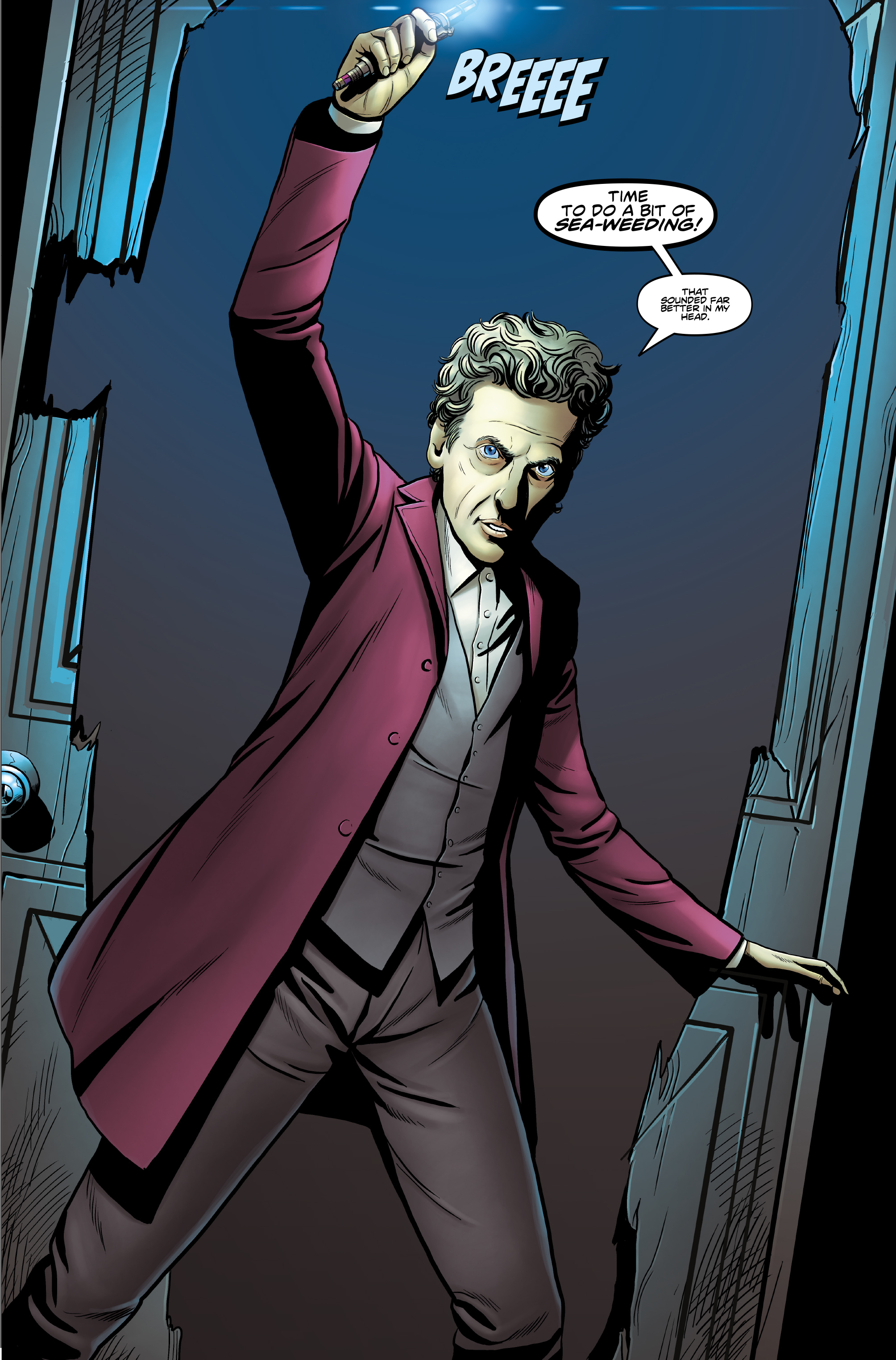 Read online Doctor Who: The Twelfth Doctor Year Three comic -  Issue #3 - 23