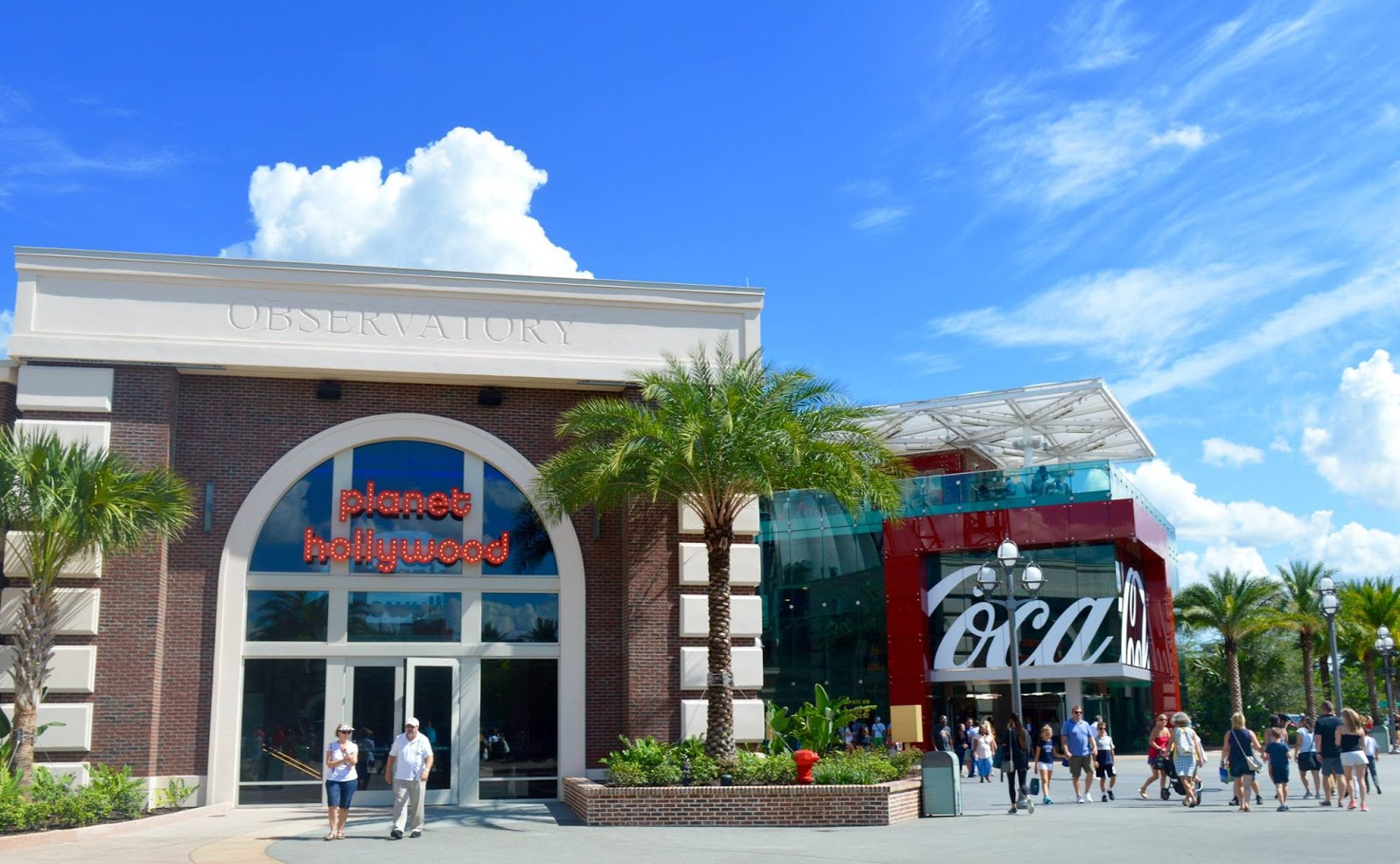 11 Things to do with Kids at Disney Springs Orlando, Florida  - planet hollywood building