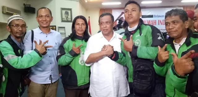 Ojol: Pak Prabowo Justru Berempati