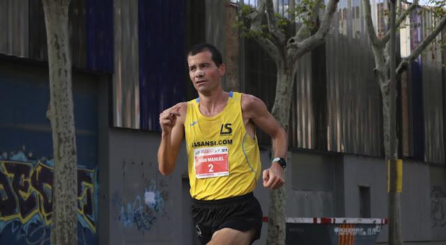 Juan Manuel Alvarez vencedor de la Cursa Poble Nou 2018