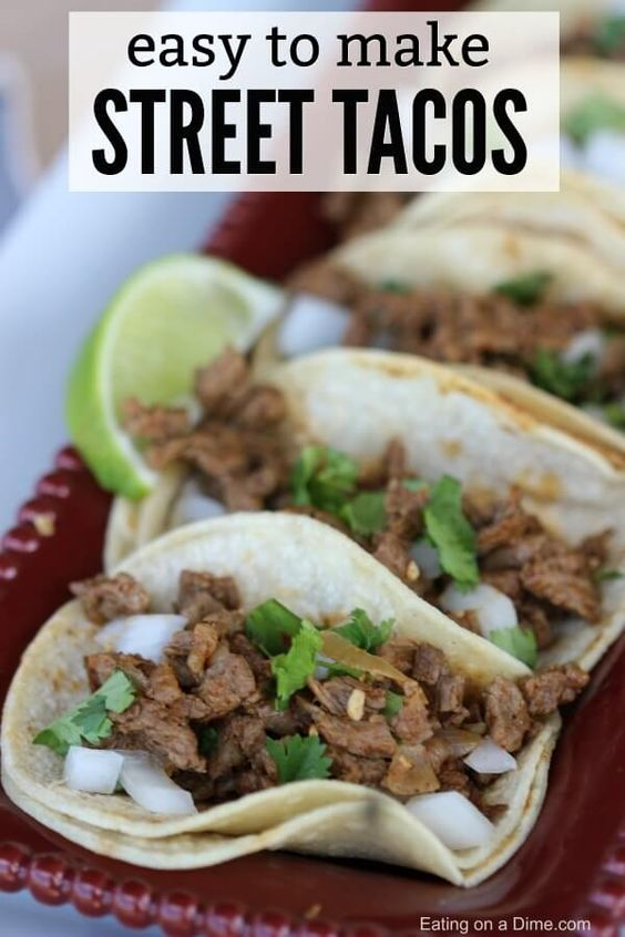 Try Carne Asada Street Tacos for a quick and tasty meal idea. Carne asada tacos are packed with flavor. Everyone will love this easy carne asada recipe.