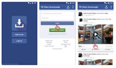 Download Video di Facebook dengan Aplikasi FB Video Download Free