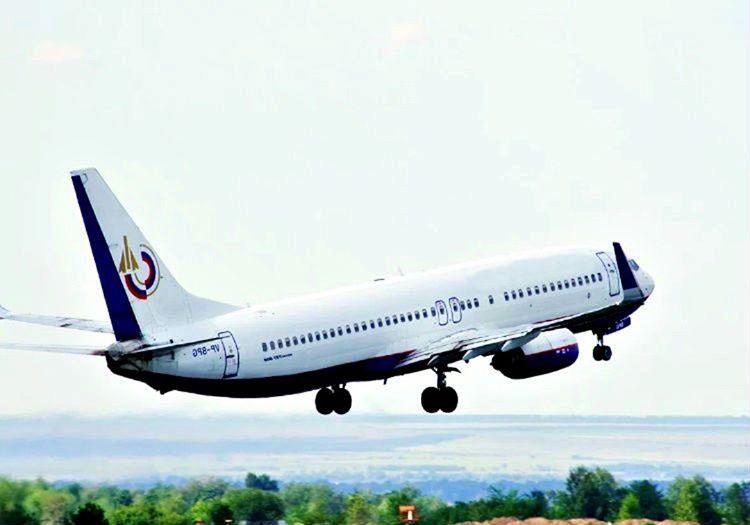 Pistten havalanan uçak 15 dakika içinde 12.000 fite kadar yükselmişti.