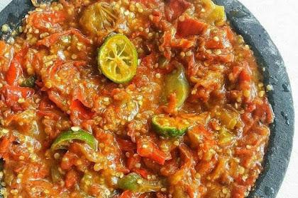 Resep Sambal Tomat Tanpa Terasi Dan Ala Lamongan Yang Cocok Dijadikan Lalapan Nikmat