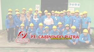 Operator Produksi Tambun Bekasi PT Cabinindo Putra
