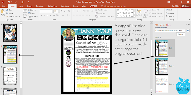 How to insert and reuse slides in PowerPoint