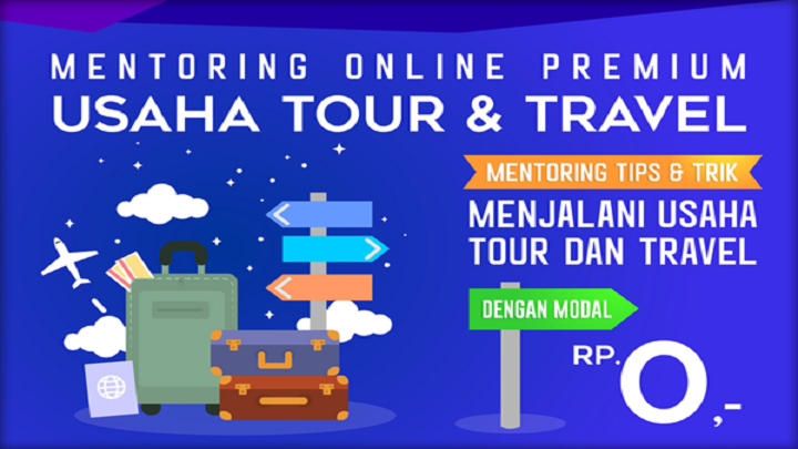 Mentoring Usaha Tour & Travel Premium