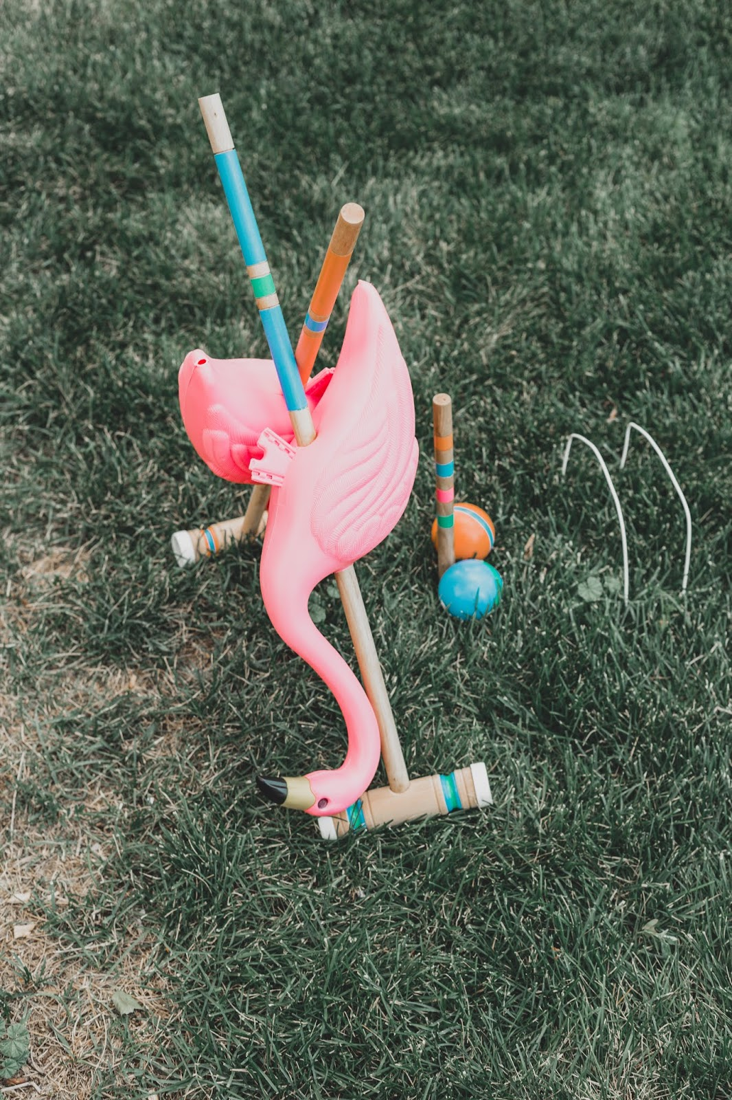 flamingo croquet set