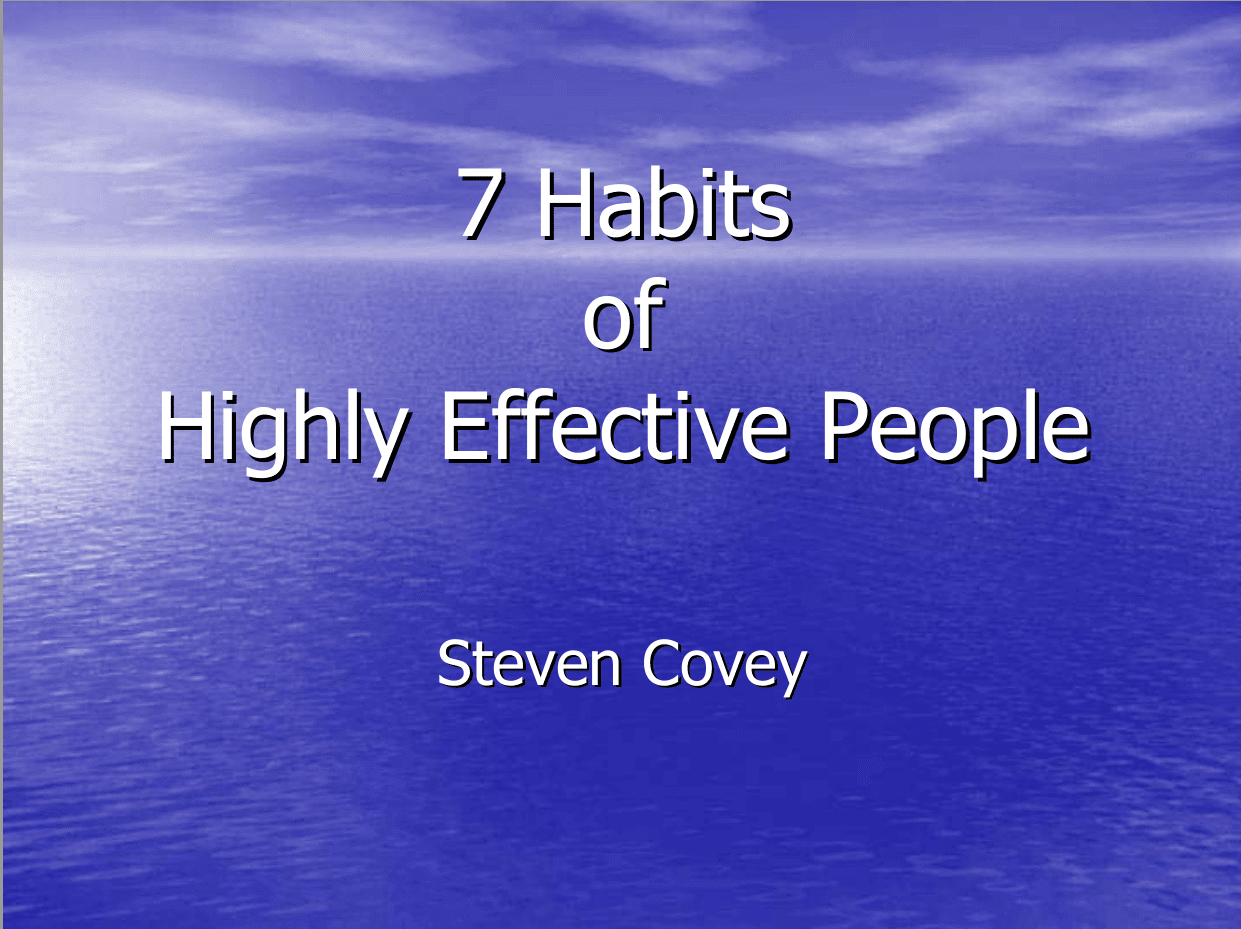 7 habits of highly effective people foundation principles by steven download 7 habits of highly effective people foundation principles steven covey ebook fandeluxe Choice Image