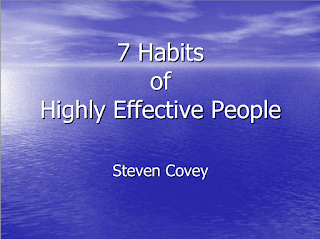 7 Habits Of Highly Effective People Foundation Principles by Steven Covey