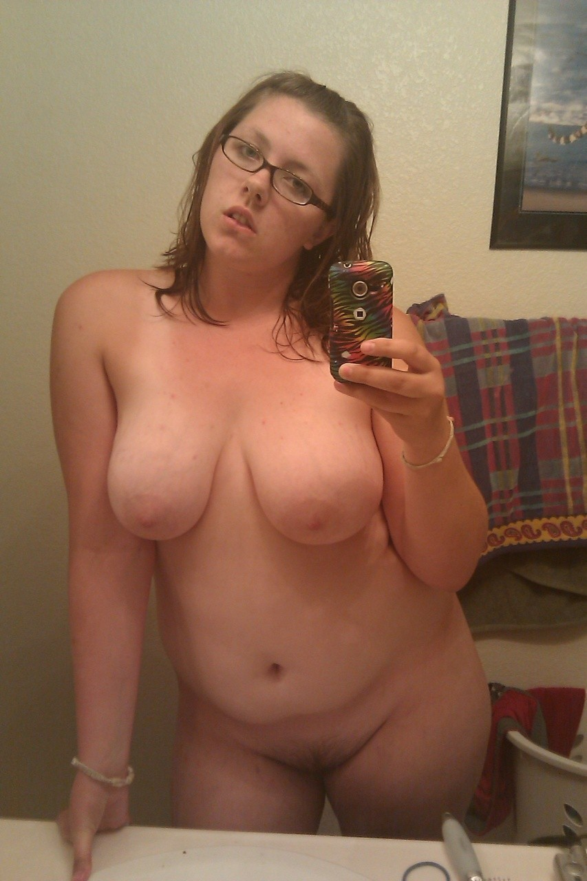 ugly girl naked self pics