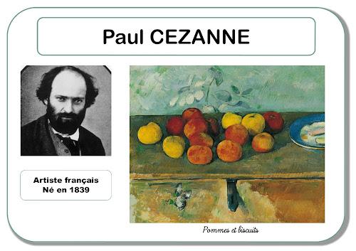 Paul Cézanne - Portrait d'artiste en maternelle