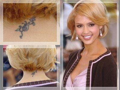 75cecd465 Tattoo King Doom: Jessica Alba Tattoo