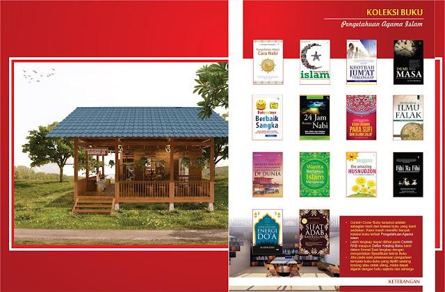 Buku Pengetahuan Agama Islam Untuk Perpustakaan Desa