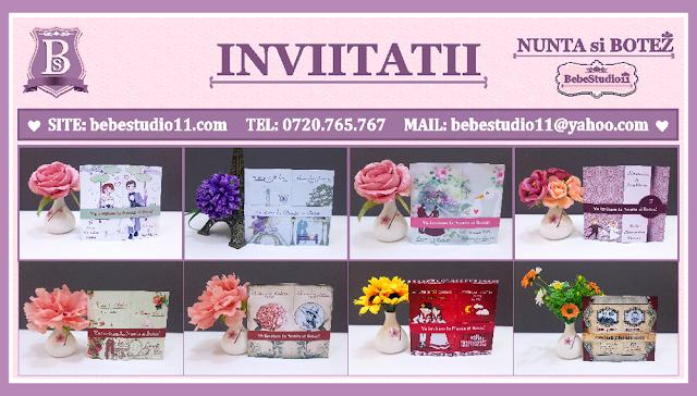 http://www.bebestudio11.com/2018/04/invitatii-nunta-si-botez.html