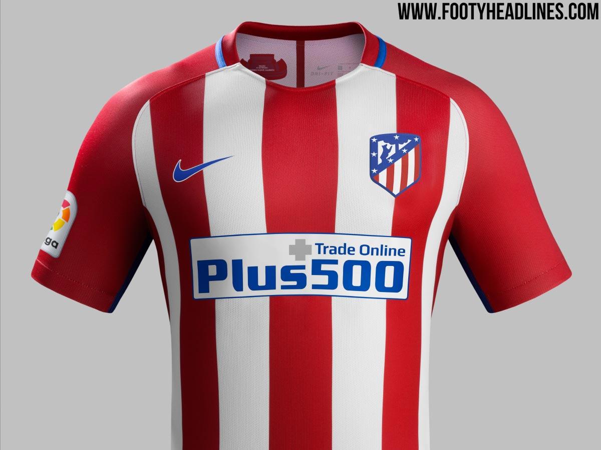 Wir stellen uns das neue Wappen auf Atleticos 16-17 ...
