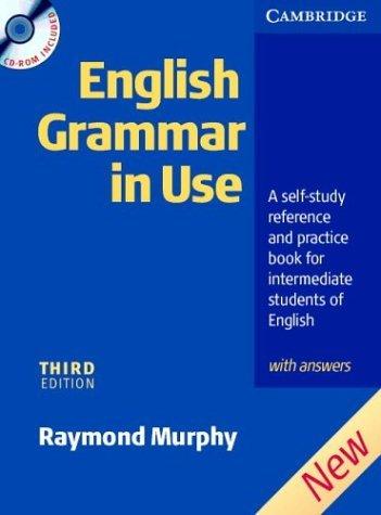 Книга по грамматике английского языка.