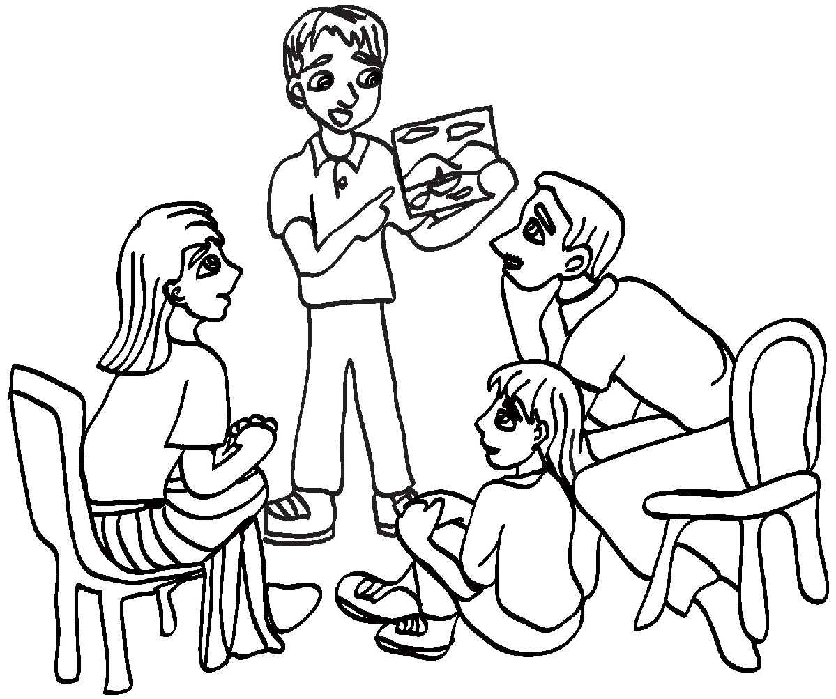 Ldsfiles Clipart Family Home Evening