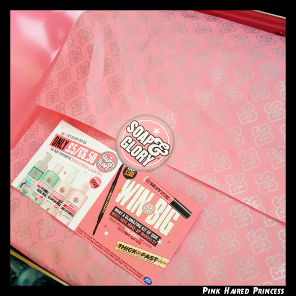 soap and glory the whole glam lot inside