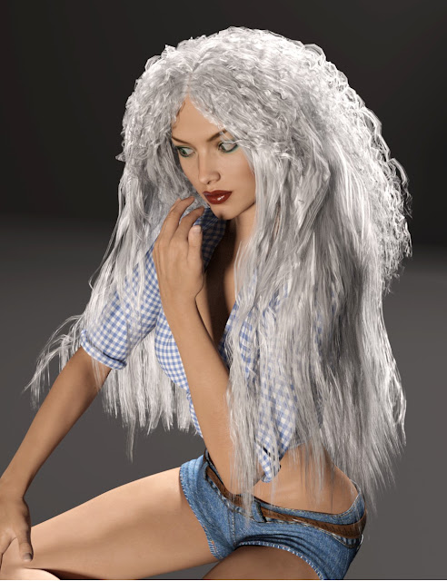 Free Spirit Hair for Genesis 3 Female