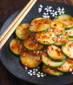 spicy korean cucumber salad recipe by seasonwithspice.com