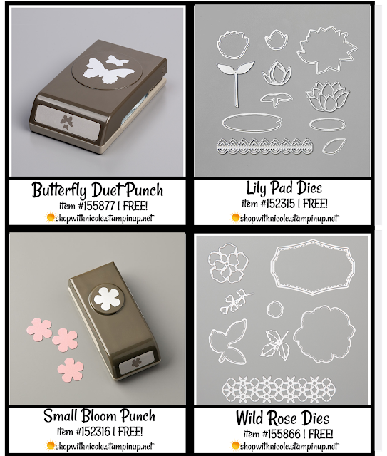 level 2 stampin' up! saleabration punches & dies