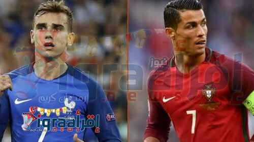 """القنوات المجانية المفتوحة الناقلة لمباراة فرنسا والبرتغال في نهائي """"يورو 2016"""""""
