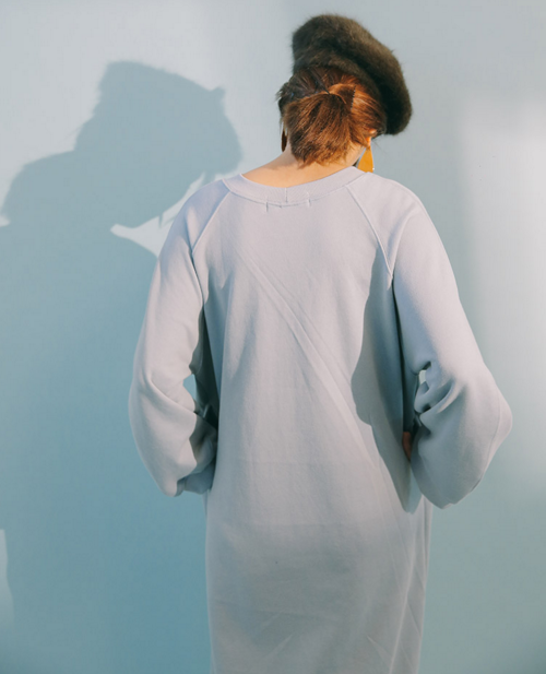Midi Sweatshirt Dress