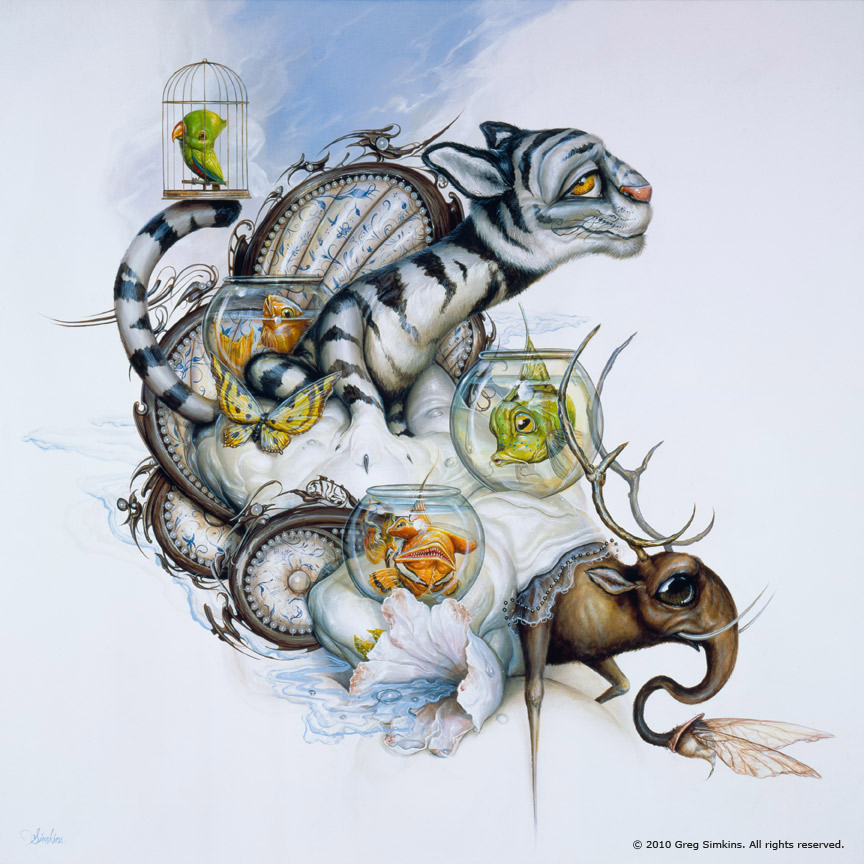 03-So-Journers-Greg-Craola-Simkins-Fantastical-Surreal-Paintings-Full-of-Details