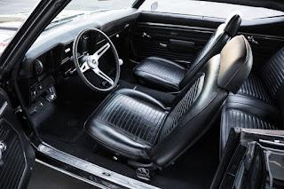 1969 Chevrolet Camaro COPO Clone Interior