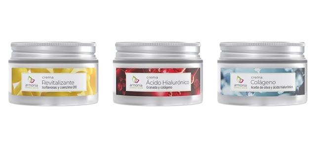 Cremas Esenciales Armonía Cosmética Natural - Revitalizante - Ácido Hialurónico - Colágeno