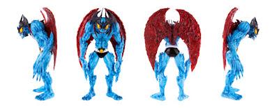 Mondo Exclusive Devilman Blue Variant Vinyl Figure by Mike Sutfin x Unbox Industries