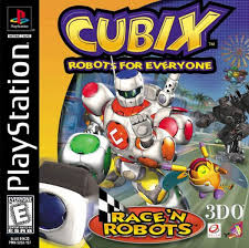 Cubix Robots for Everyone - Race n Robots - PS1 - ISOs Download