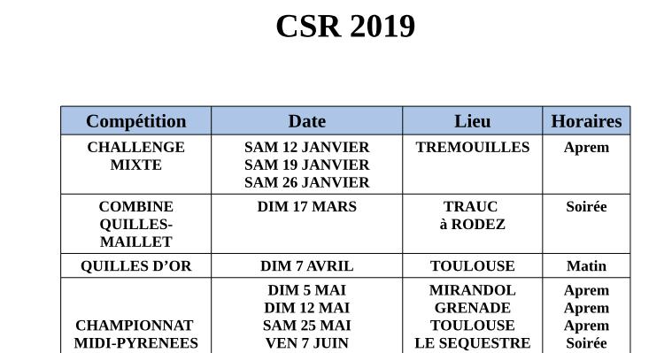 Calendrier Avril Mai Juin 2019.Calendrier 2019