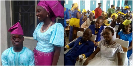 Image result for Dwarf RCCG Pastor Dele Taiwo's Wedding Photos -