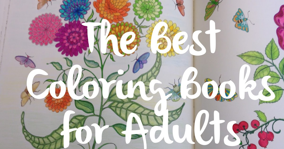 The Jersey Momma Best Adult Coloring Books