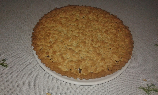 mum's jam cake crostata recipe
