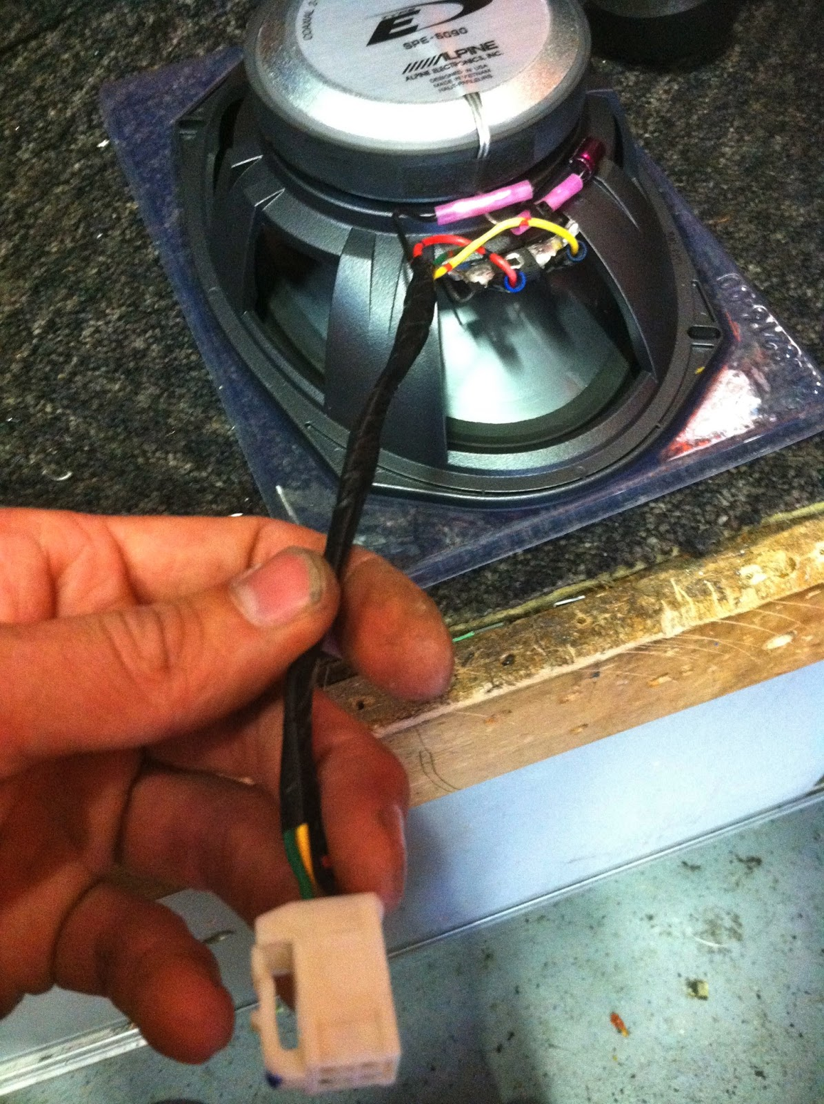 Car Audio Tips Tricks and How To's : Upgrading Rear Speakers Toyota